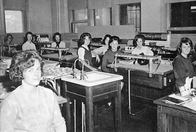 Home Ec Room 1965