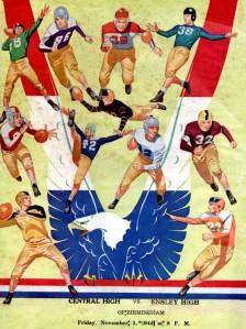 1944 Football Program